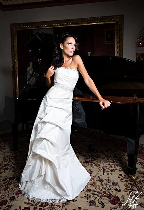 Robe de mariée bohème Estelle Cloann Couture
