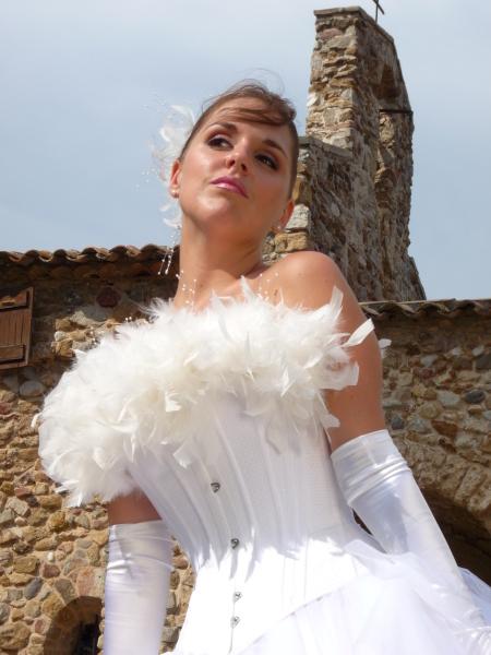 robes de mariée - estelle cloann création