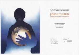 estelle-cloann-1ier-prix-départemental-Loire-Atlantique-Sema-métier-de-la-tradition-octobre-2002