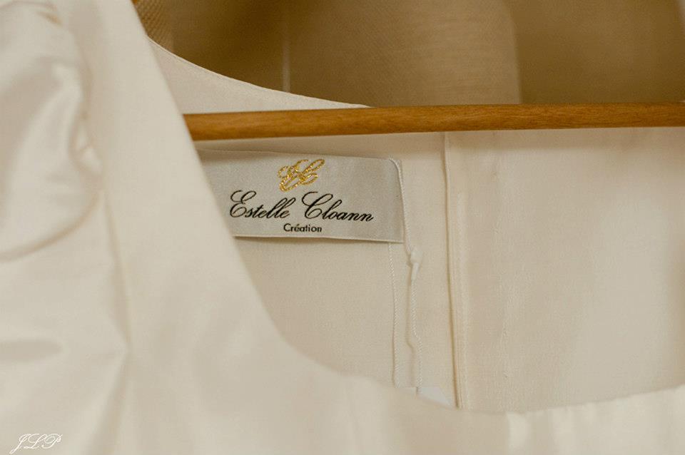 Détail Création Estelle Cloann Couture