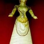 Déesse Serpent de la civilisation minoenne corset